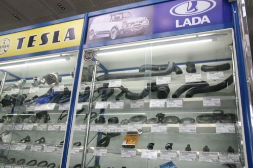 ラダの自動車用純正部品