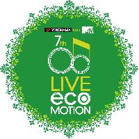 「横浜ゴム LIVEecoMOTION with MTV」のロゴ
