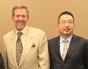 右:水谷友重社長