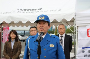 静岡県警高速交通警察隊浜松分駐隊・海野分駐隊長