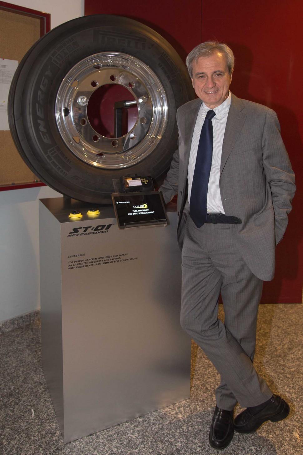 ピレリ技術部門ゼネラルマネージャー マウリツィオ・ボイオッキ氏