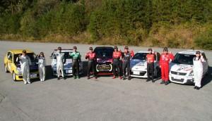 昨シーズンの全日本ラリー選手権でシリーズチャンピオンを獲得したヨコハマタイヤユーザーと参戦車両