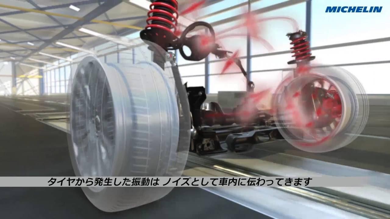 【動画】日本ミシュランタイヤ ミシュラン・アコースティック・テクノロジー