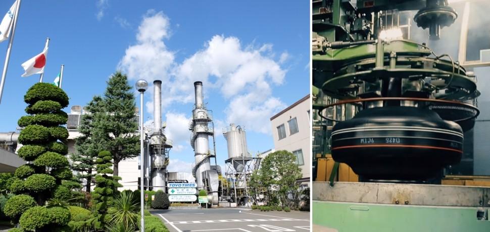 仙台工場:宮城県岩沼市と生産設備