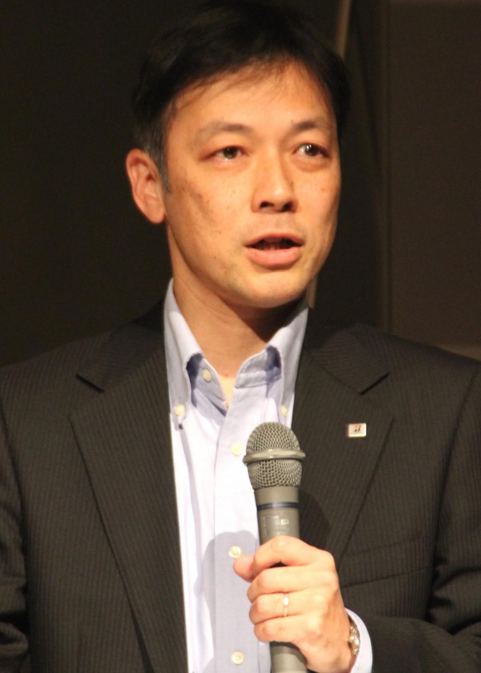 新規IRを解説する会田フェロー