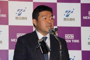 ネクセンのカン ホ チャン社長。日本のユーザーニーズに合った製品の開発を強化する。