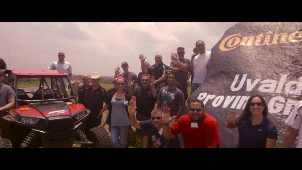 【動画】コンチネンタルタイヤ Continental Tire Uvalde Proving Grounds: Are you ready?