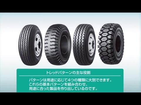 【動画】ダンロップ タイヤのパターンおよび特徴| タイヤの基礎知識| ダンロップ