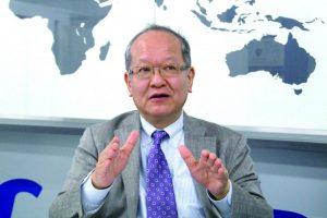 日本グッドイヤー金原雄次郎代表取締役社長の写真