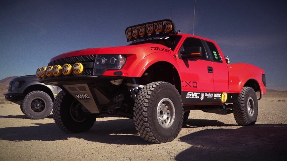 【動画】ファルケンタイヤ Falken Wildpeak M/T & A/T3W equipped Ford Raptors