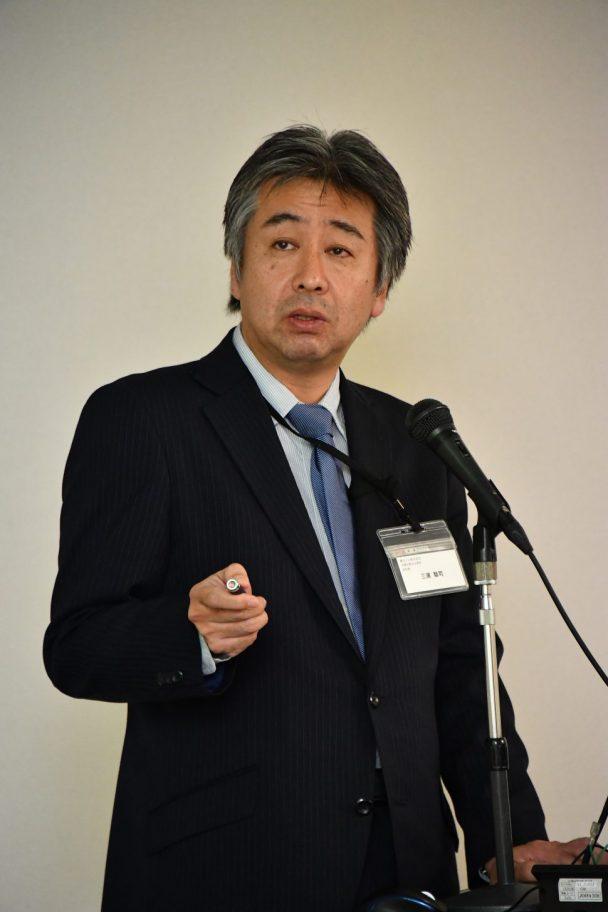 消費財製品企画部の三浦聡司氏