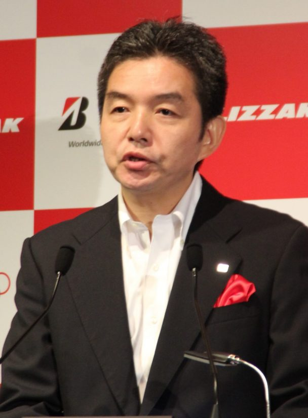 ブリヂストンタイヤジャパンの上田常務執行役員