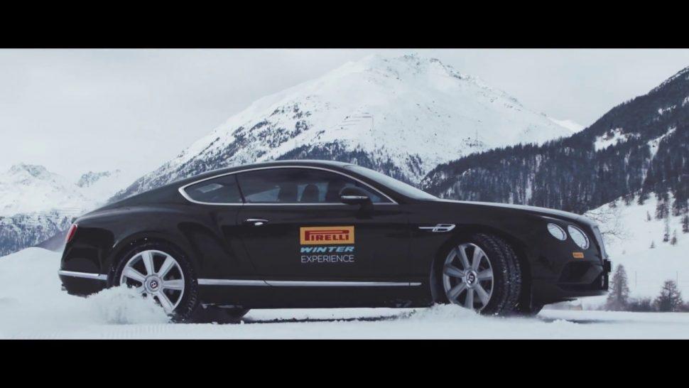 【動画】ピレリ Winter – Driving Expirience vs Ski