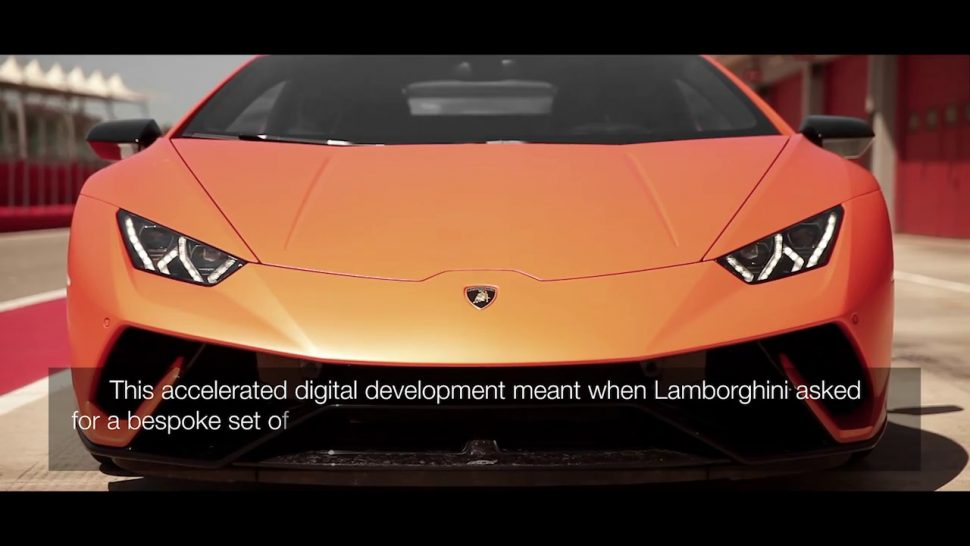 【動画】ピレリ Developing #ThePerfectFit – Lamborghini