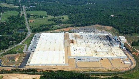 米国タイヤ工場(ジョージア州)