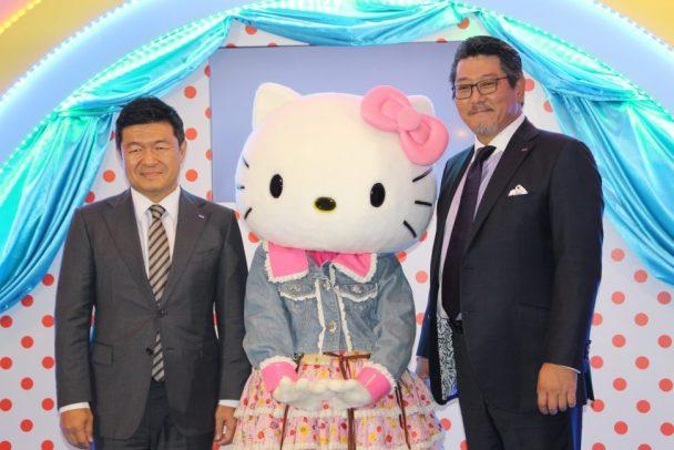 ネクセン本社のカン・ホ・チャン社長とネクセンタイヤジャパンの西村竜社長
