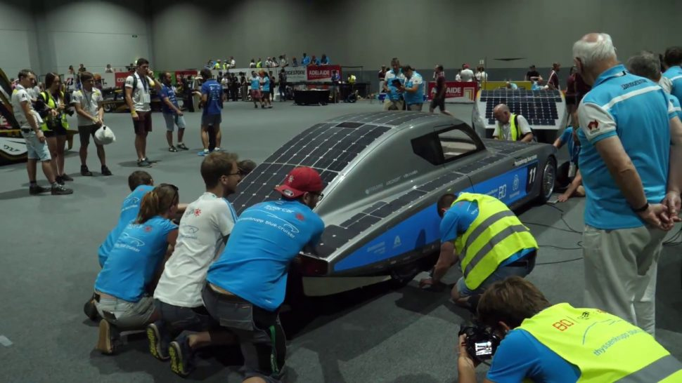 ブリヂストン動画 5 OCT SCRUTINEERING – 2017 Bridgestone World Solar Challenge Report
