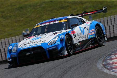 SUPER GT/GT500KONDO RACINGの「フォーラムエンジニアリングADVAN GT-R」(2017年)