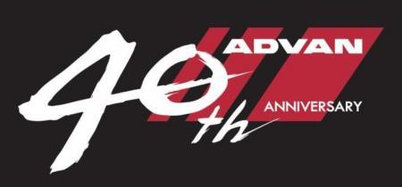 「ADVAN」誕生40周年記念ロゴマーク