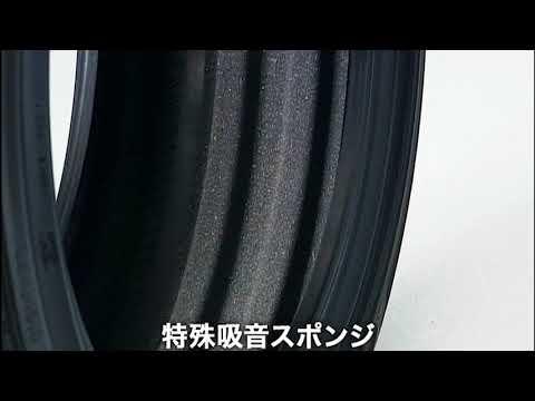 住友ゴム動画 ダンロップが追求する快適性「サイレントコア(特殊吸音スポンジ)」| ダンロップ