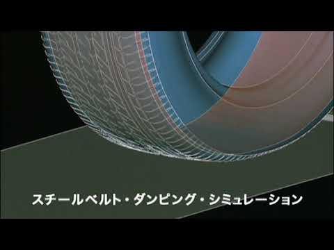 住友ゴム動画 スチールベルト・ダンピング・シミュレーション| ダンロップ